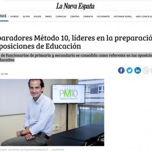 Preparadores Método 10, líderes en la preparación de oposiciones de Educación